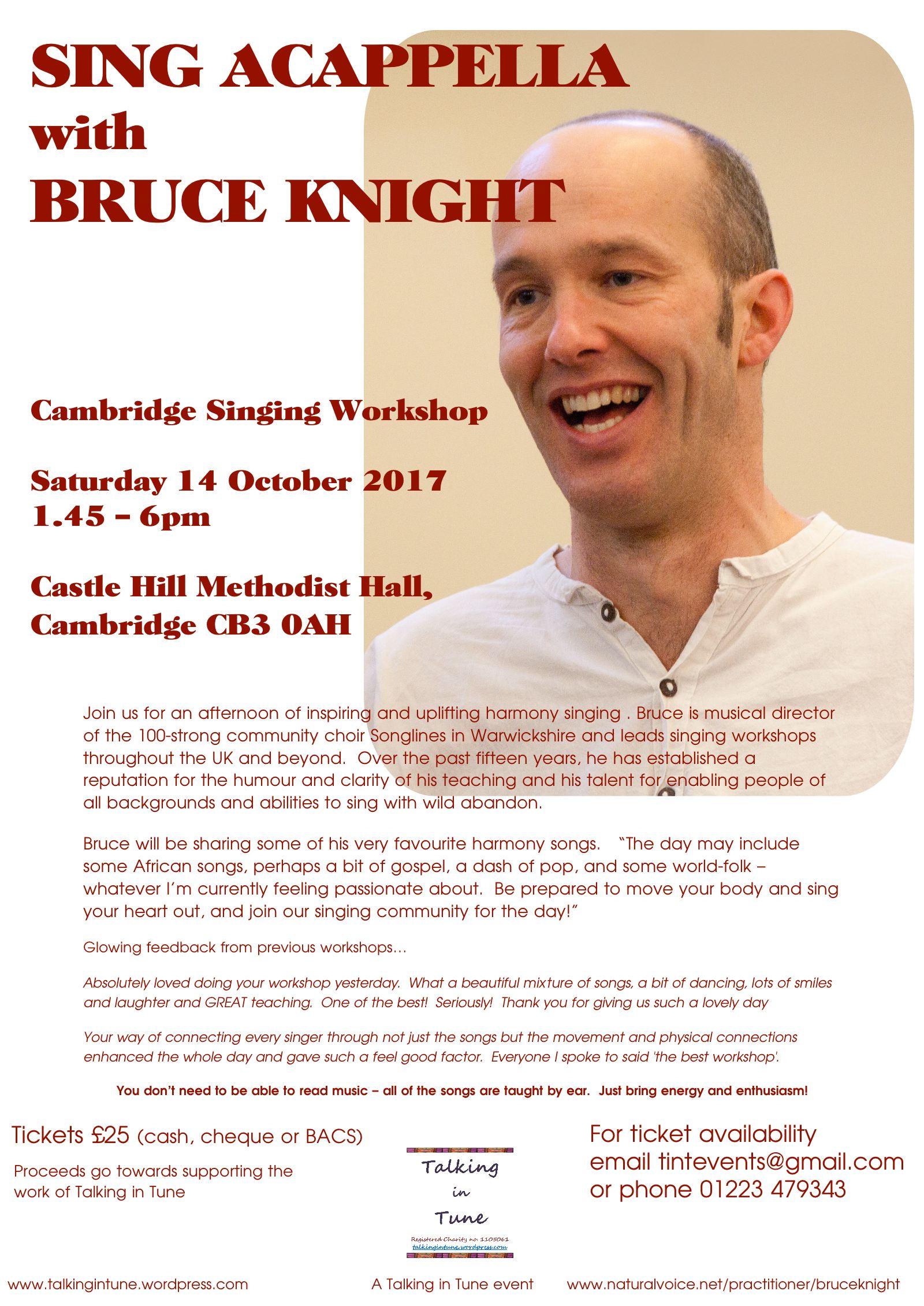 News :: Cambridge Cycle of Songs