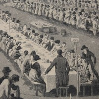 Parker's Piece & 1838 Coronation Feast