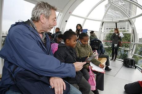 Michael Rosen launching Children's Book Week, 2008