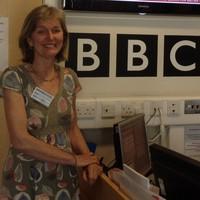 Illustration: RADIO: Rowena Whitehead on BBC Radio Cambridgeshire