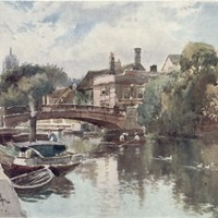 Roman Cambridge – Magdalene Bridge