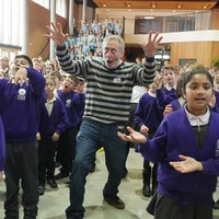 Michael Rosen Workshop on Victorians for Rhythm, Rhymes & the Railways