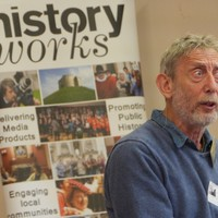 Illustration: Michael Rosen  Workshop - HMD & History Beneath Our Feet at Abbey Meadows School