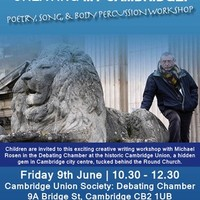 Illustration: Creative Writing Day  With Michael Rosen On 9th June