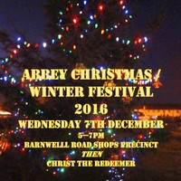 Abbey Lantern Festival & Singing & Feasting on 7th Dec - All Welcome!