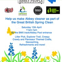 Abbey Environment Day - Sat 13th April 11am to 1pm - All Welcome!