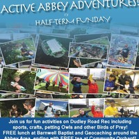 Illustration: Half Term 'Active Abbey Adventures' Fun Day on 30th May!