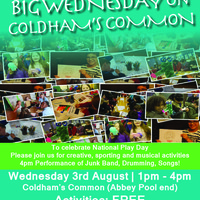 BIG WEDNESDAY on COLDHAM'S COMMON