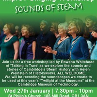 Improv singing workshop 'Sounds of STEAM'