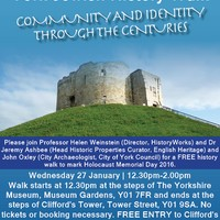 York Jewish History Walk: Community and Identity Through the Centuries