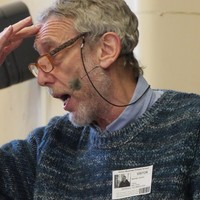 Illustration: Creative Workshop With Michael Rosen at Abbey Meadows School