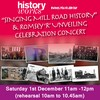 "Projects: ""Singing Mill Road History"" & Romsey R Unveiling Celebration Concert"