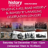 """Singing Mill Road History"" & Romsey R Unveiling Celebration Concert"