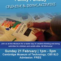 Family FunDay: Creative & Doing Activities