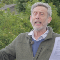 Illustration: Michael Rosen Events with Historyworks in Cambridge Spring 2018