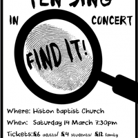 Illustration: Ten Sing – Saturday 14th March