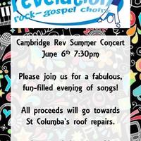 Illustration: Revelation Rock Gospel Choir Fundraiser Concert on Saturday 6th June
