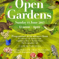 Illustration: Singing & Music at Open Gardens – Come Along!