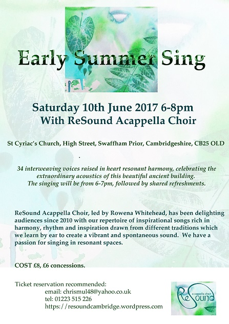 Early Summer ReSound Concert :: Historyworks