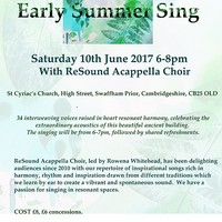 Illustration: Early Summer ReSound Concert
