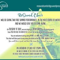 Illustration: ReSound Acappella Choir – FREE summer singing events